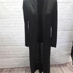 Zara long duster cardigan